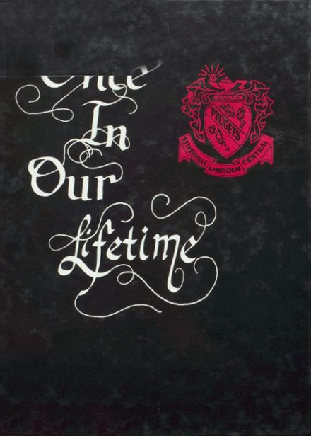 1998 Lincoln Central High School Yearbook Cover