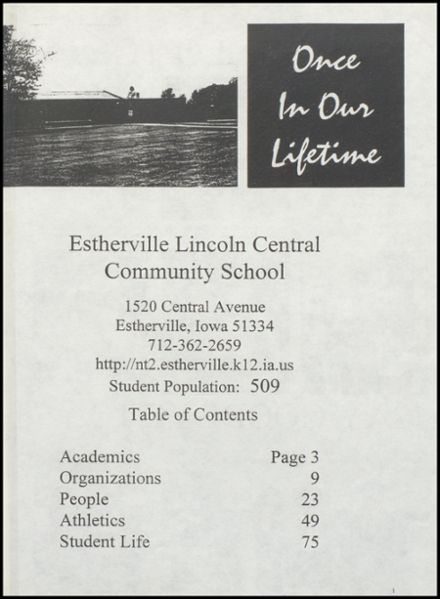 1998 Lincoln Central High School Yearbook Page 5