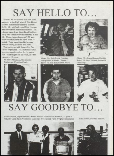 1998 Lincoln Central High School Yearbook Page 6