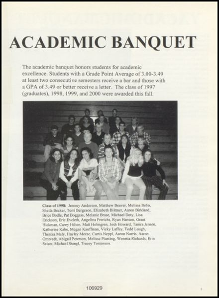 1998 Lincoln Central High School Yearbook Page 7