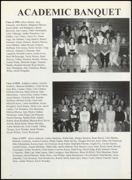 1998 Lincoln Central High School Yearbook Page 8