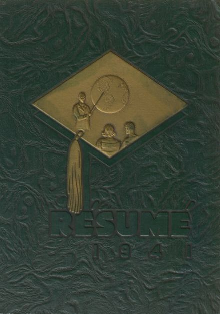 1941 Springfield High School Yearbook Cover