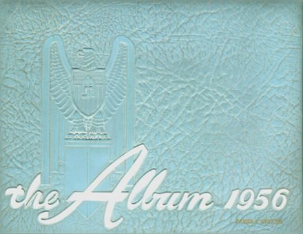 1956 Adams High School Yearbook Cover