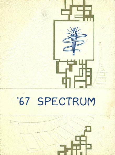 1967 McHenry High School Yearbook Cover