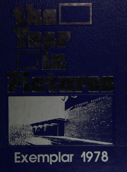 1978 Model Laboratory High School Yearbook Cover
