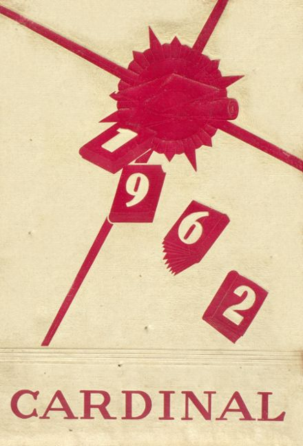 1962 Franklinville High School Yearbook Cover