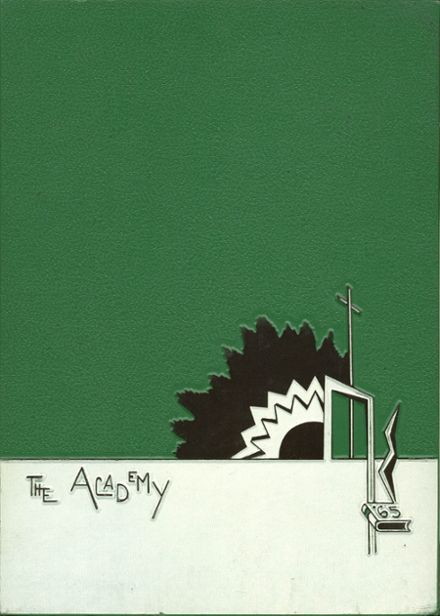 1965 St. Joseph's Academy Yearbook Cover