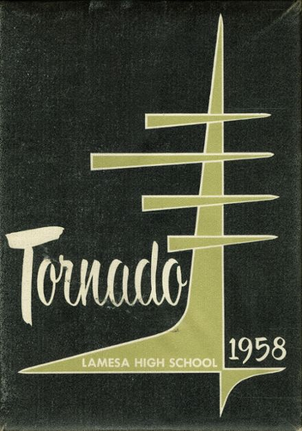 1958 Lamesa High School Yearbook Cover
