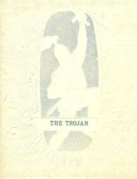1955 Yale High School Yearbook Cover