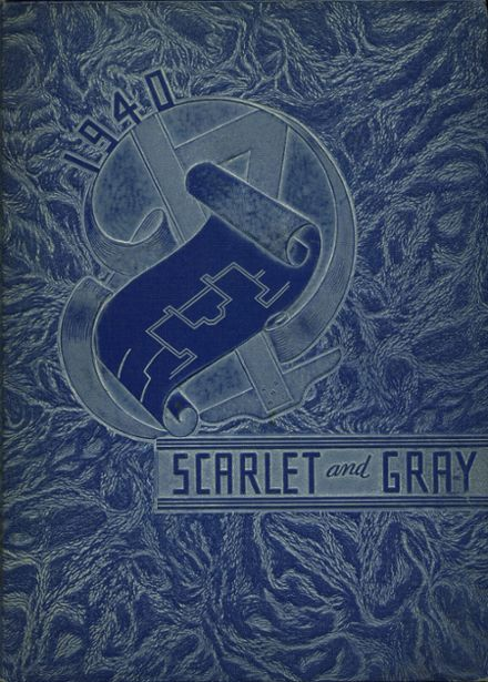 1940 West Lafayette High School Yearbook Cover