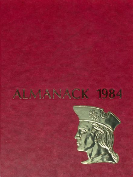 1984 Franklin High School Yearbook Cover