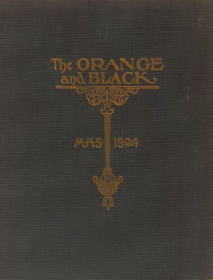 1904 Middletown High School Yearbook Cover