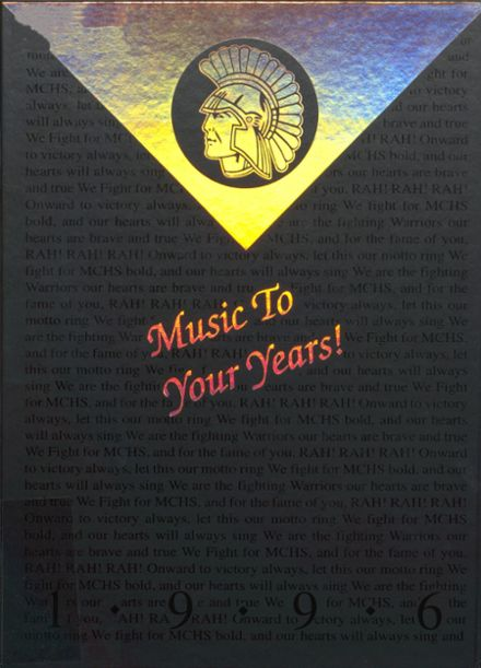 1996 McHenry Community High School Yearbook Cover