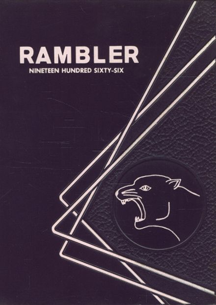 1966 Roseville High School Yearbook Cover
