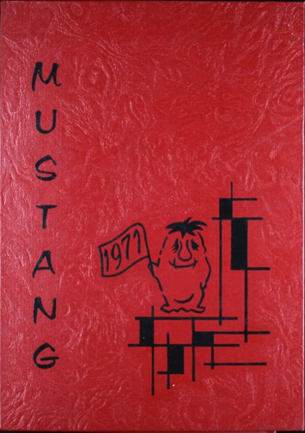 1971 Madisonville High School Yearbook Cover
