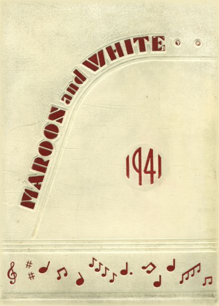 1941 Uniontown High School Yearbook Page 1