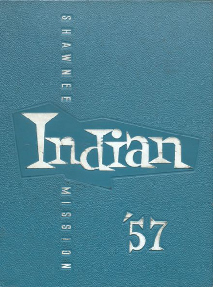 1957 Shawnee Mission North High School Yearbook Cover