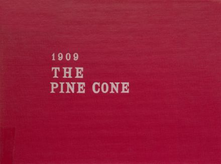 1909 Pine Bluff High School Yearbook Cover
