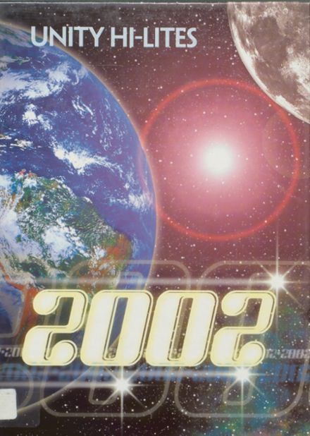 2002 Unity High School Yearbook Cover