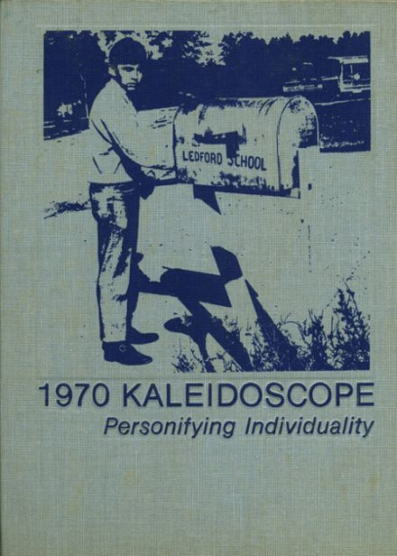 1970 Ledford High School Yearbook Cover