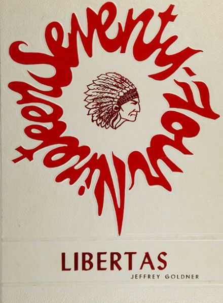 1974 Liberty High School Yearbook Cover
