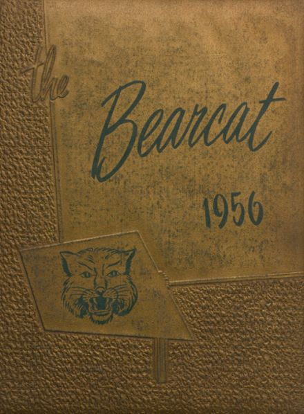 1956 Moody High School Yearbook Cover
