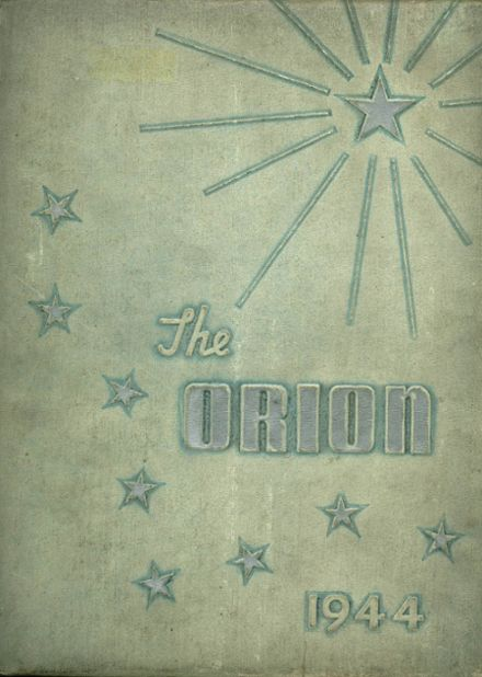 1944 East Fairmont High School Yearbook Cover