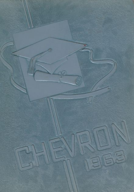 1963 Albion High School Yearbook Cover