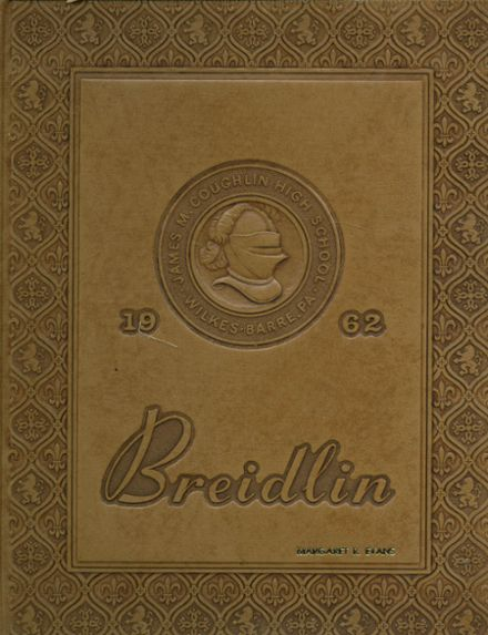 1962 Coughlin High School Yearbook Cover