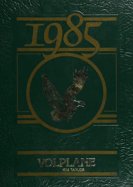 1985 Firestone High School Yearbook Cover