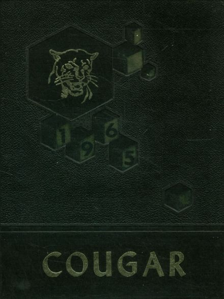 1965 Courtenay High School Yearbook Cover