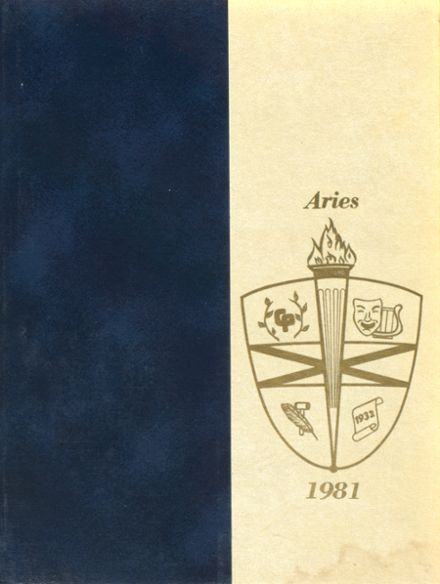 1981 College Park High School Yearbook Cover