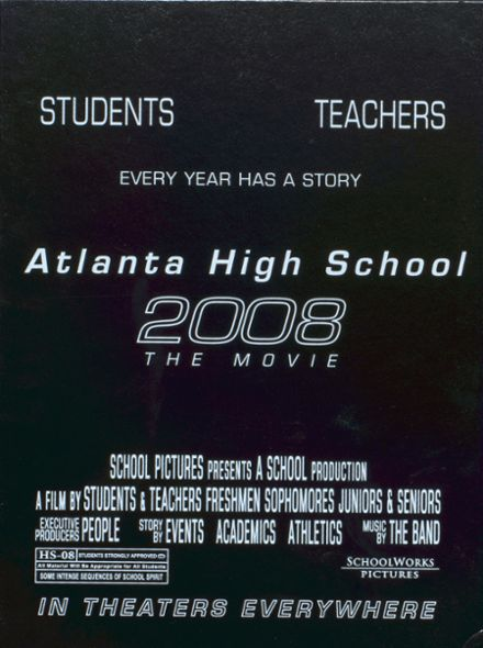 2008 Atlanta School Yearbook Cover