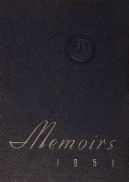 1951 Washington Irving High School Yearbook Cover