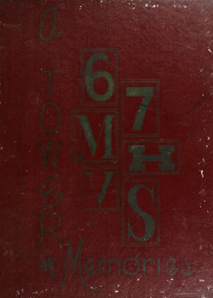 1967 Manual High School Yearbook Cover