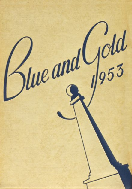 1953 Grand Haven High School Yearbook Cover