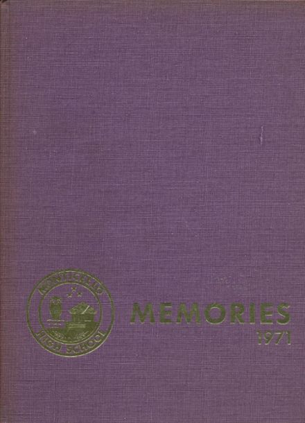 1971 Monticello High School Yearbook Cover