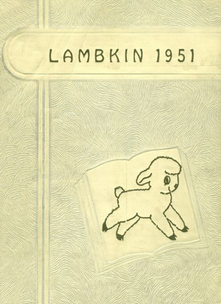 1951 Ft. Collins High School Yearbook Cover