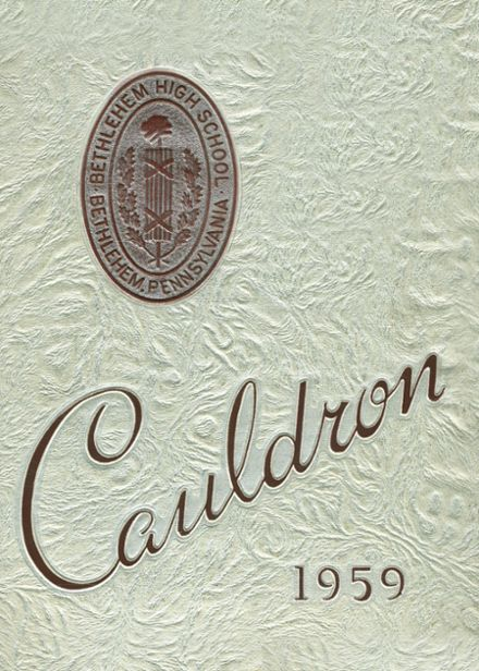 1959 Liberty High School Yearbook Cover