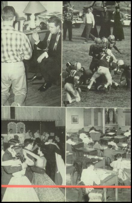 1956 Campion Jesuit High School Yearbook Page 8