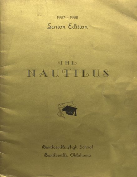 1938 College High School Yearbook Cover