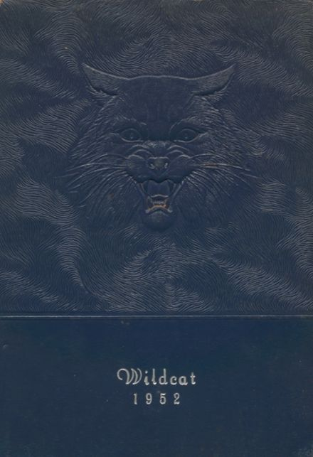 1952 Welch High School Yearbook Cover