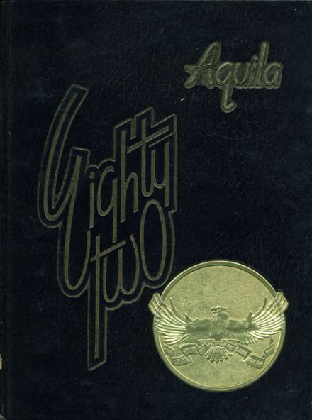 1982 Boulder City High School Yearbook Cover