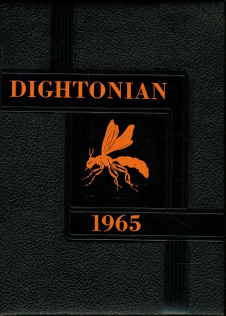 1965 Dighton High School Yearbook Cover