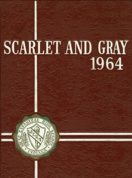 1964 West Lafayette High School Yearbook Cover
