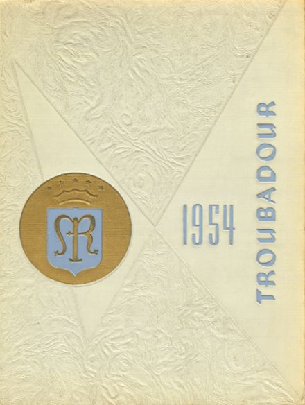 1954 Catholic High School of Baltimore Yearbook Cover
