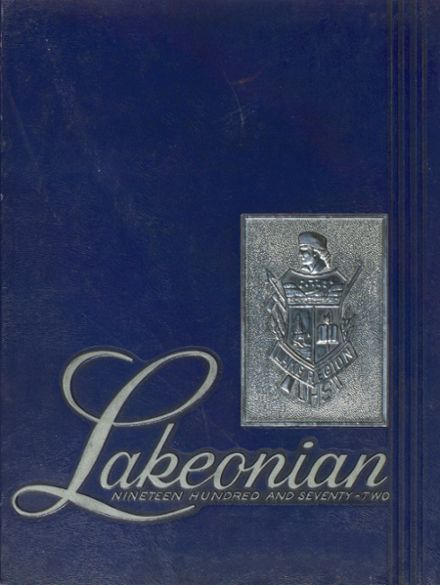 1972 Lake Region Union High School Yearbook Cover