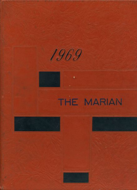 1969 St. Mary's Academy Yearbook Cover