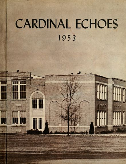1953 Andrews High School Yearbook Cover