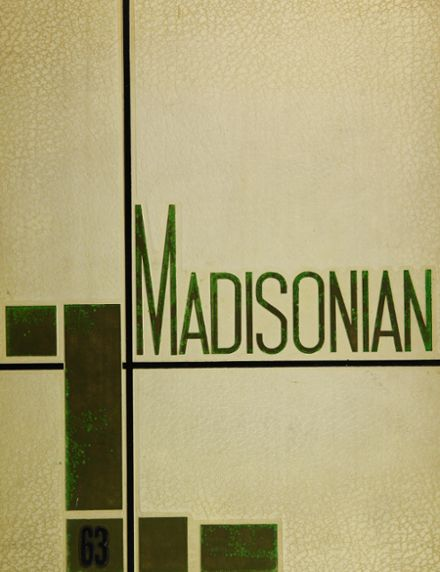 1963 Madison High School Yearbook Cover